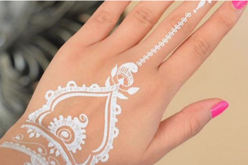 How To Apply White Henna My Beauty Healthier Beauty Products