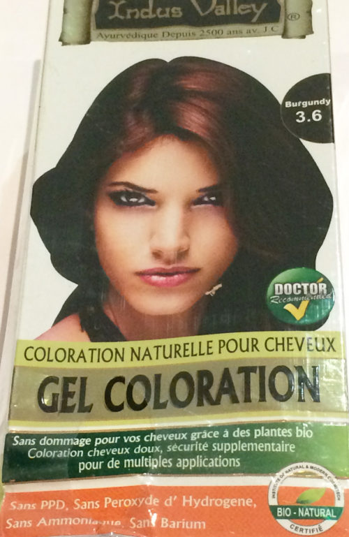 Natural Hair Dye - Permanent
