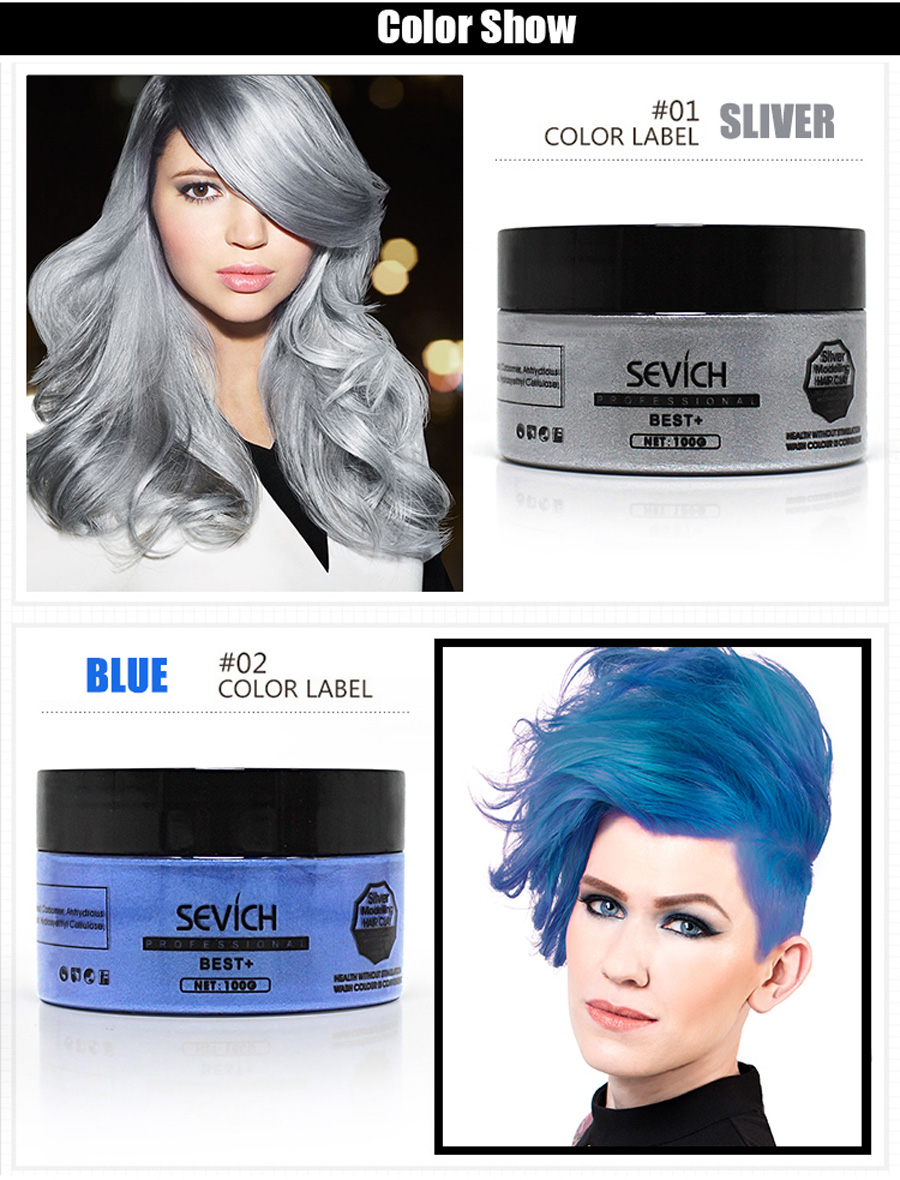 Silver Grey Hair Dye Colour | My Beauty - Healthier Beauty Products